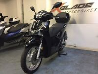 Honda Sh 125cc Automatic Scooter, Top Box, 1 Owner, Low Miles, V Good Cond, ** Finance Available **