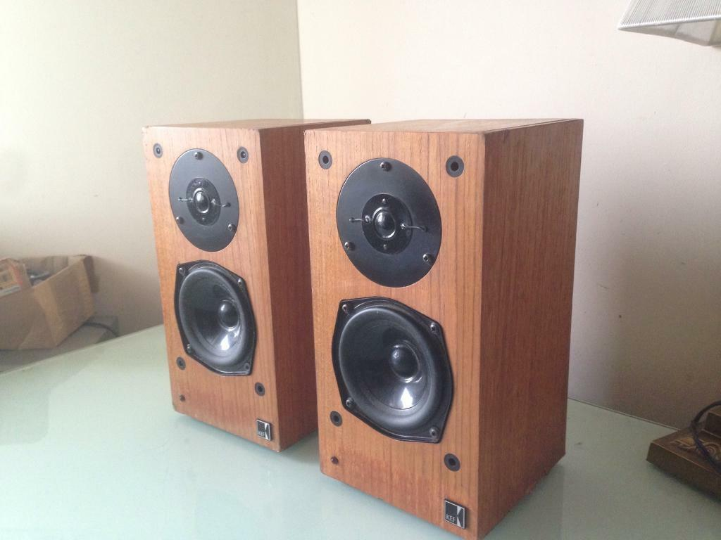 Kef Reference 101 T27 B110 Vintage Bookshelf Speakers Like LS3