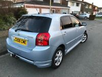 2006 Model Toyota Corolla 1995cc Diesel, 5 door Blue colour Extremely Low Mileage