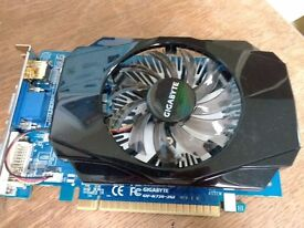Gigabyte GT 730 2GB DDR3 Graphics Card for sale