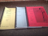 THE ART OF PLAYING THE FLUTE 3 VOLUME'S