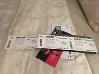 3x The Clothes show tickets Sunday 4th Dec