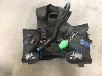 Diving Gear - Sherwood BCD, Regulators. Plus fins, masks(s) and gloves.