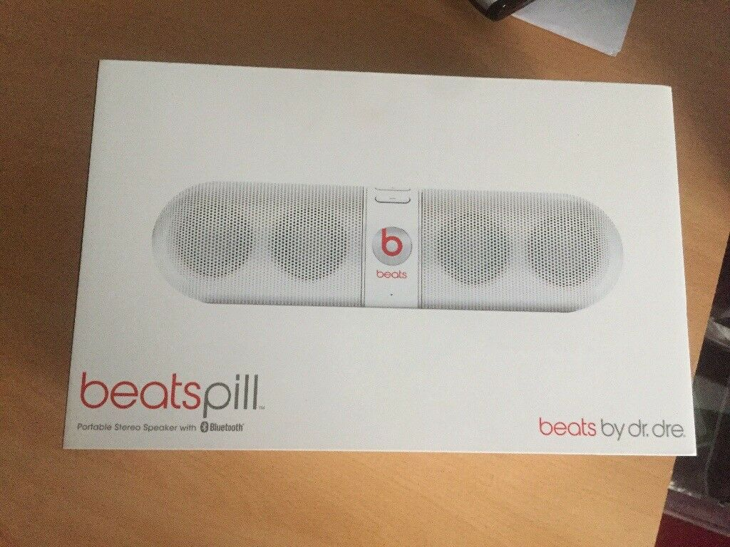 Bluetooth beats pill by dr Dre speaker