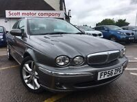 JAGUAR X-TYPE 2.5 V6 SE (AWD) 4dr (grey) 2006