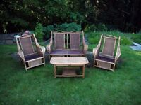 Bamboo furniture (garden or indoors) - free against collection.