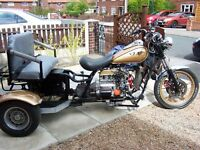 Trike Reliant running gear 850cc 2 x seater excellent runner,