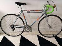BSA team vintage racer racing bike