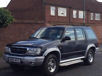 Ford explorer 4.0 4x4 LHD Left hand drive