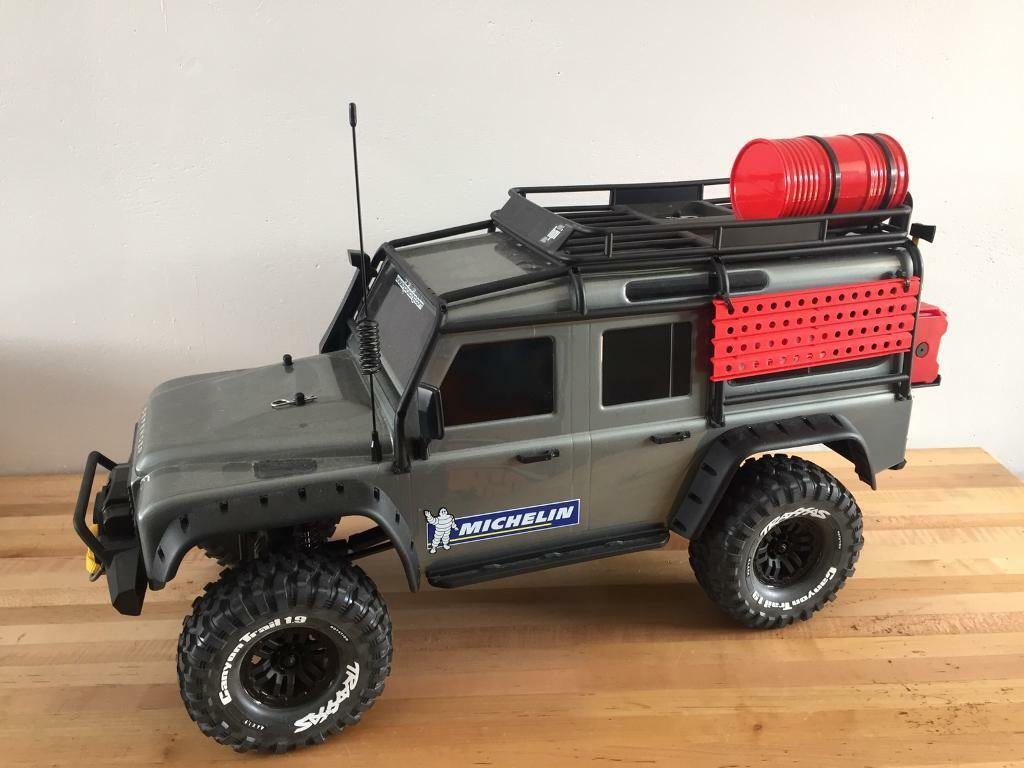 New Land Rover Defender 2019 >> Traxxas trx4 trx-4 Land Rover defender 4x4 off road rc crawler | in Comber, County Down | Gumtree