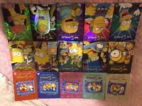 Simpsons series 1-15 complete DVD