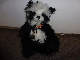 VINTAGE CHARLIE BEARS PANDA - £80
