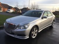 2010 MERCEDES E200 CDI SE BLUE EFFECIENCY HEATED LEATHER P/EX WELCOME