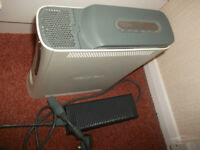 White Xbox 360 console + power adapter and 20GB HDD / hdmi