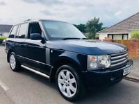 LAND ROVER RANGE ROVER TD6 HSE 3.0 DIESEL AUTOMATIC FULL LEATHER + OSLO BLUE METALLIC