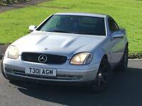 Mercedes slk 230 automatic convertible