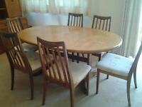Gplan Extendable Oval Table