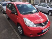 2009 NISSAN NOTE 1.4 VISIA 5 DOORS LONG MOT 2 LADY OWNERS
