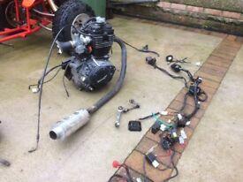Lex moto 125 4 stroke motorbike quad engine