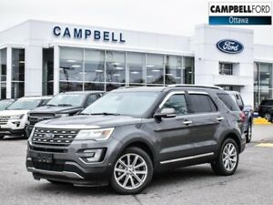 2017 Ford Explorer Limited AWD-LEATHER-17,000 KMS