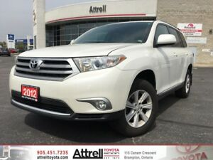 2012 Toyota Highlander. Keyless Entry, Backup Camera, A/C.