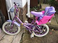 Girls Bike age 5-6