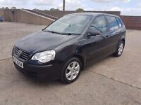 2007 VW POLO 1.2 LOW MILEAGE (1 FULL YEAR MOT FOR SALE)