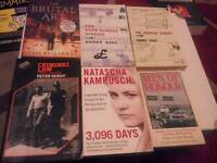 Collection of rare books hard and paperbacks