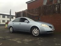 Nissan Primera 2006 Long Mot Low Miles Drives Great Cheap Car !