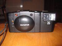 Olympus XA2 compact film camera with flash