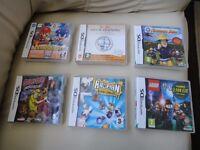 Nintendo DS Games £2 Each