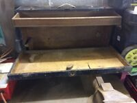 Antique Carpenters Tool Box