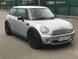 MINI ONE 1.4 2008 * PETROL * ALLOYS *SERVICE HISTORY *ALLOYS * LONG MOT * SERVICE HISTORY *WARRANTY