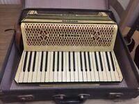 Accordion Hohner Verdi 3 III, vintage accordion