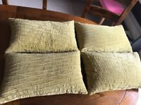 Great Quality Curtains With Matching Cushions