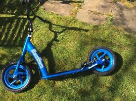 BMX stunt cruiser scooter