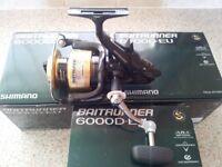 Shimano 6000 D EU Baitrunners Carp Fishing Equipment