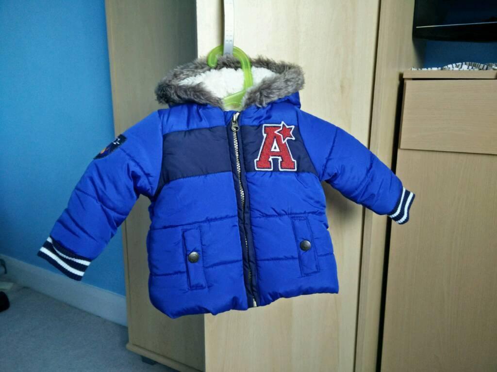Baby boy winter jacket 3-6 months