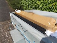 UNUSED FARAD BARS IRON 2 110CM ROOF RACK - 2 BARS & NO FIXINGS