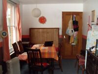 Pleasant room in quiet, clean, long established vegetarian shared house close central Southampton