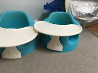 Two blue bumbos for sale