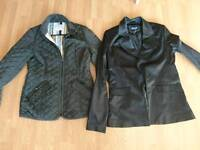 2 Size 10 jackets both a fiver