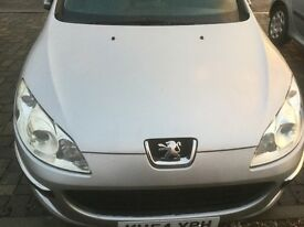 For Sale Peugeot 407 7 months MOT Diesil Engine Cheap runner 90000 miles