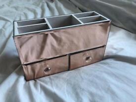 Copper Mirrored Jewellery Box