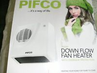 PIFCO DOWNFLOW FAN HEATER (Brand New & Boxed)