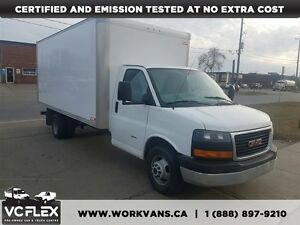 2015 GMC Savana G3500 16Ft 6.6L Duramax Diesel + Ramp