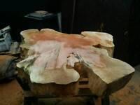 Timber Log Slab Tree