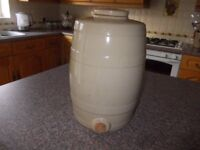 Old stone jar very good condition