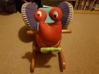Rocking Horse (snail) Mamma's and Pappa's