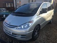 2003 Toyota Previa 8 seats Manual 1 year MOT